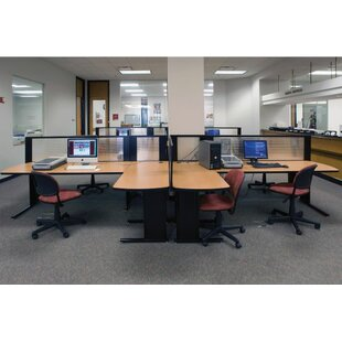 Workzone Workstsation With Partition. By KI Furniture