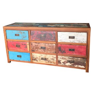 Loon Peak Barnes 9 Drawer Dresser