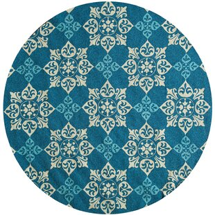 Bromville Blue Indoor/Outdoor Area Rug