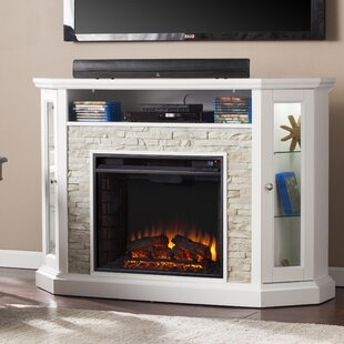 Montpelier TV Stand for TVs up to 50 with Electric Fireplace