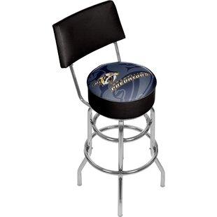 NHL Watermark 31 Swivel Bar Stool by Trademark Global