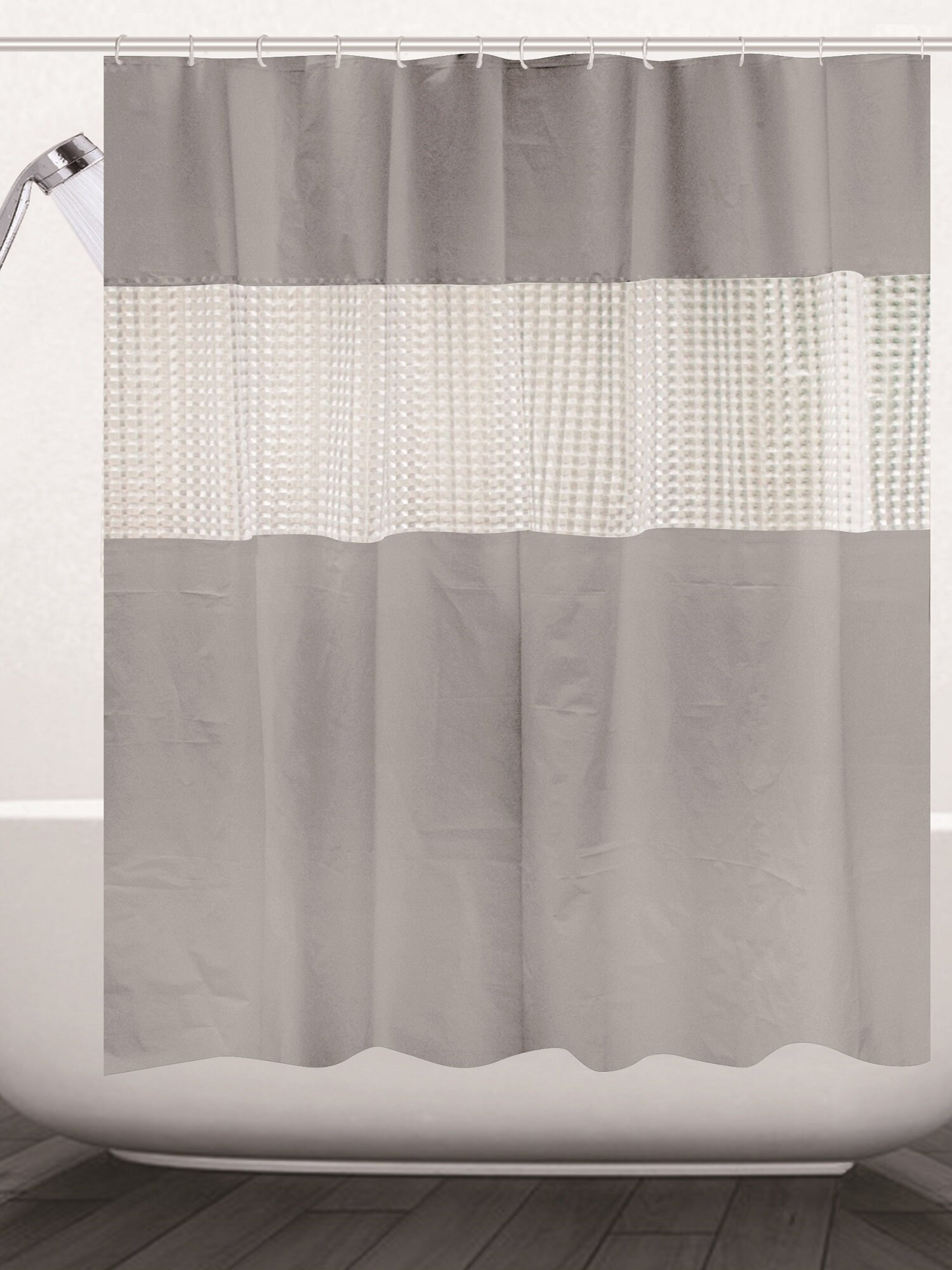 Ebern Designs Albaugh Peva Shower Curtain Reviews