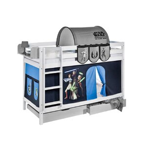 Star Wars Single Bunk Bed With Curtain By Star Wars