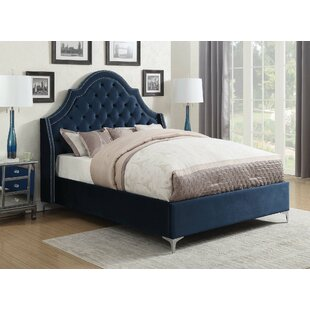 Liggett Upholstered Panel Bed by Rosdorf Park