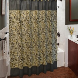 Findlay Shower Curtain with Hook Set (Set of 12)