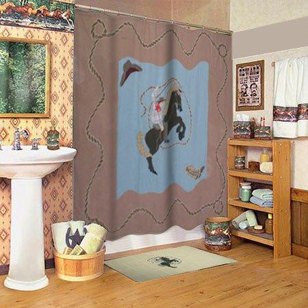 Patch Magic Cowboy Shower Curtain