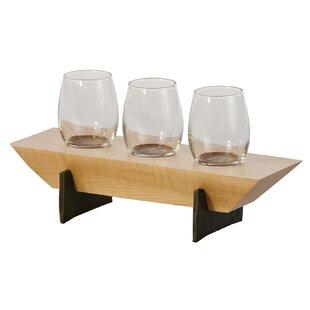 Lenhardt 4 Piece Tabletop Wine Glass Rack