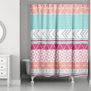 Hector Boho Tribal Single Shower Curtain