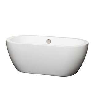 Online Reviews Soho 60 x 30 Freestanding Soaking Bathtub By Wyndham Collection