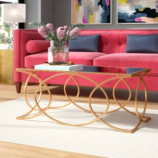 Best Reviews Dunlin Geometric Coffee Table by Everly Quinn