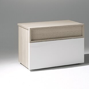 YumanMod Astor 2 Drawer Nightstand