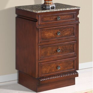 4 Drawer Accent Chest by Silkroad Exclusive