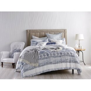 Brennen Matelasse Medallion Single Duvet Cover