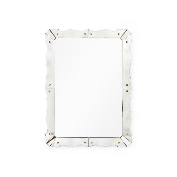 Bungalow5 Caroline Modern Contemporary Beveled Venetian Accent Mirror Perigold