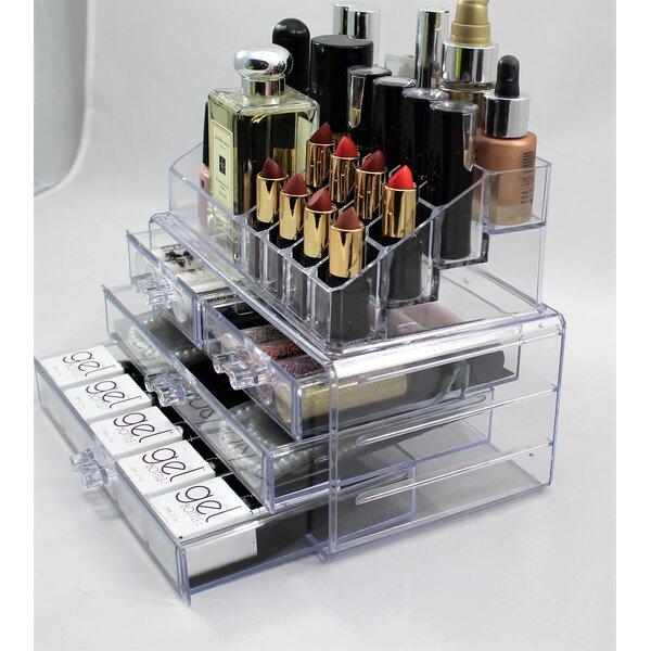 Acrylic Makeup Storage Wayfair Co Uk