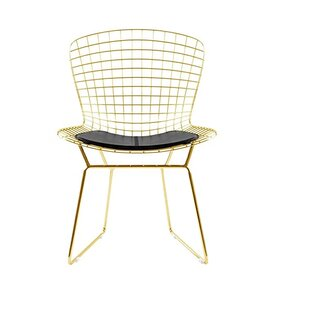 Iseminger Wire Dining Chair by Orren Ellis Cool