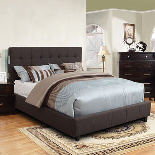 A&J Homes Studio Denise Upholstered Platform Bed