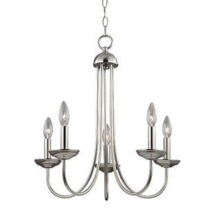 Charlton Home Bordelon 5-Light Chandelier