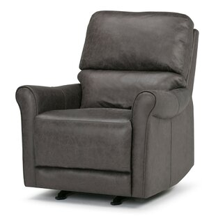 Simpli Home Garrison Manual Glider Recliner