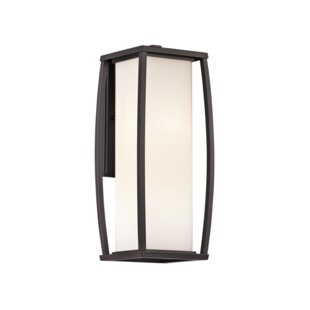 Roumfort 1-Light Outdoor Sconce by Winsto..