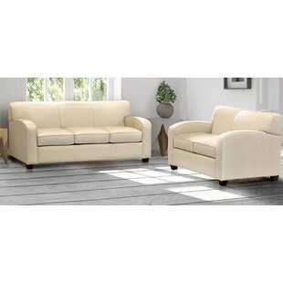 Terrific Made In Usa Rossleigh Cream Top Grain Leather Sofa Bed And Loveseat Machost Co Dining Chair Design Ideas Machostcouk