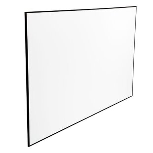 Black 100 Fixed Frame Projector Screen