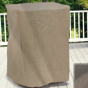 English Garden Square Outdoor Side Table/Ottoman Cover by Budge Industries