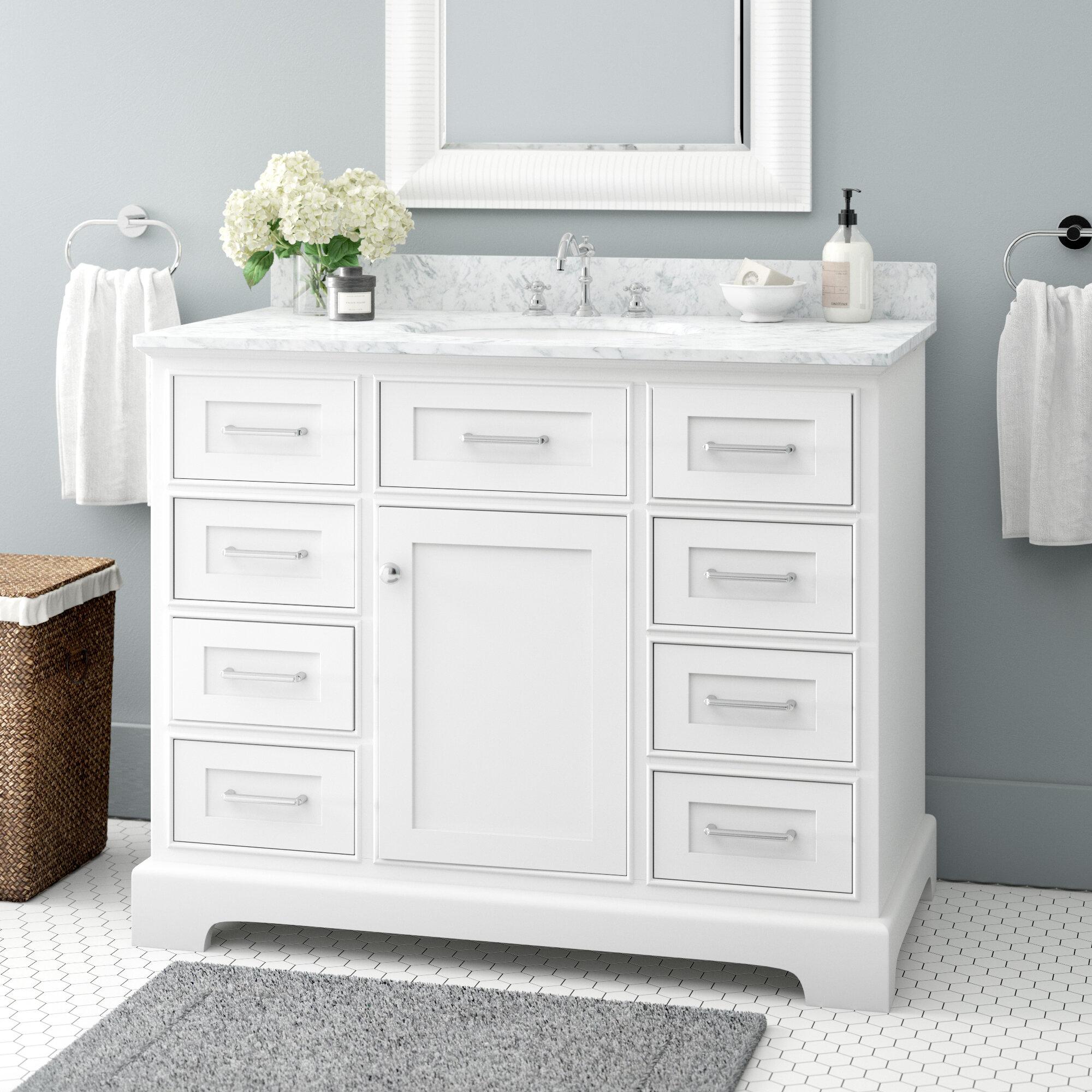 """Breakwater Bay Refugio 10"""" Single Bathroom Vanity Set & Reviews"""