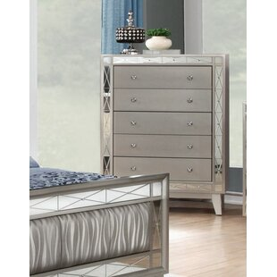 Mercer41 Jantzen 5 Drawer Chest
