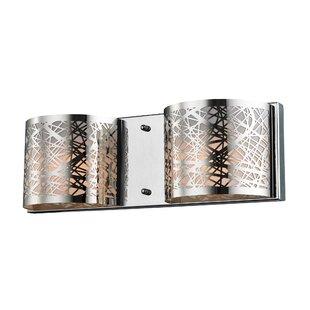 Ebern Designs Milsap 2-Light Bath Bar