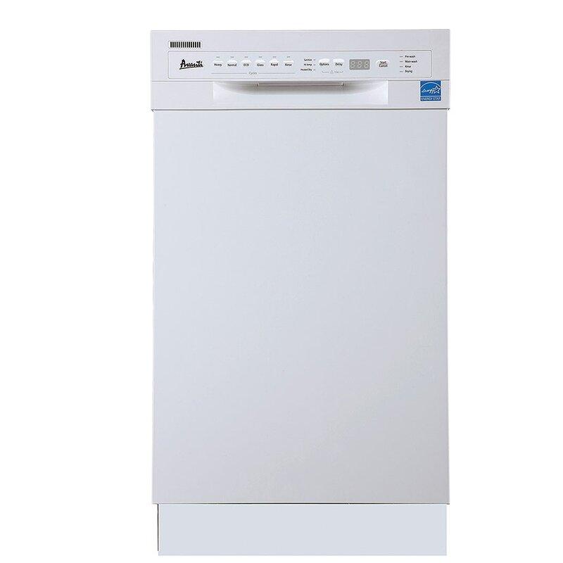 "Avanti 18"" Built-In Dishwasher"