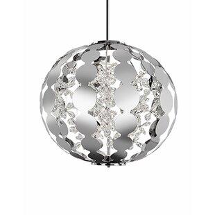 Flora 1-Light Pendant by Radionic Hi Tech