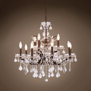 Inexpensive Chantrell 12-Light Chandelier By House of Hampton