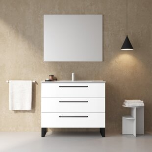 Dalhart 40 Single Bathroom Vanity Set by Latitude Run
