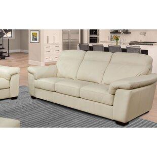 Capri Genuine Leather Sofa by Omnia Leather Find