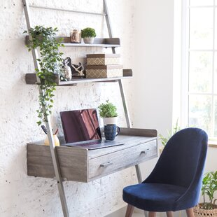 Pierpoint Ladder Desk by Union Rustic Cool