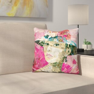 Girl Next Door Throw Pillow : door pillow - Pezcame.Com