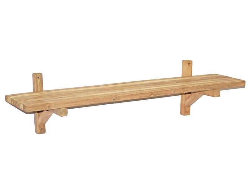 Bamboo54 Bamboo Single Wall Shelf | Wayfair
