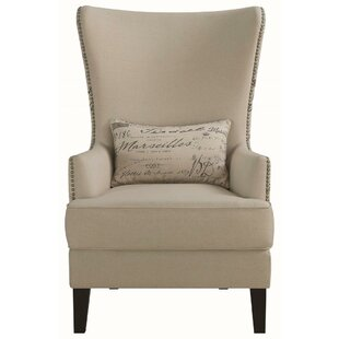 Inexpensive Philson Wingback Chair by One Allium Way Reviews (2019) & Buyer's Guide