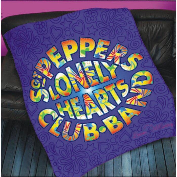 Lennon and Mccartney Sgt Pepper Throw