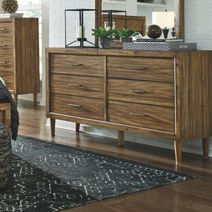 Wrought Studio Lund 6 Drawer Double Dresser