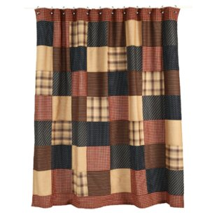 Affordable Medomak Cotton Shower Curtain By Loon Peak