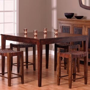Panasonic Counter Height Dining Table by Bloomsbury Market