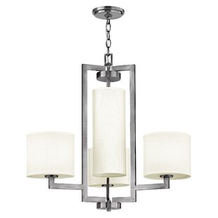 Hinkley Lighting Hampton 4-Light Shaded Chandelier