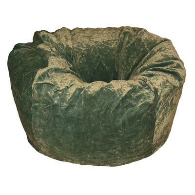 Ahh! Products Bean Bag Chair Upholstery: Dark Olive
