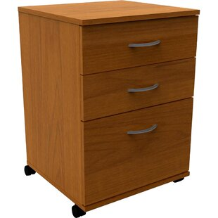 Havilland 3 Drawer Mobile File Cabinet
