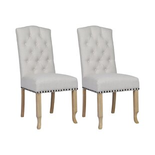 Adrian Upholstered Dining Chair (Set Of 2) By Rosdorf Park