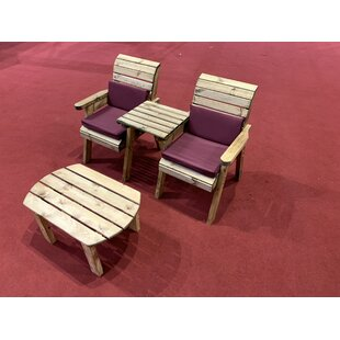Garza 2 Seater Conversation Set By Union Rustic