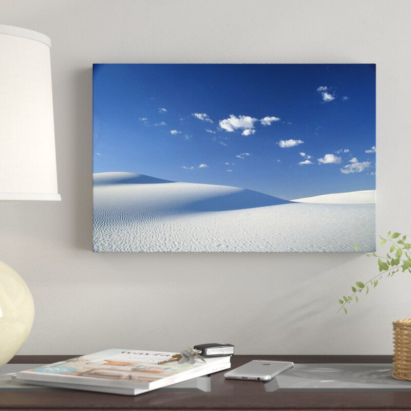 East Urban Home Sands National Monument New Mexico Photographic Print On Canvas Wayfair