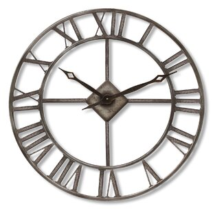 Isoline Oversized Rustic 76cm Wall Clock